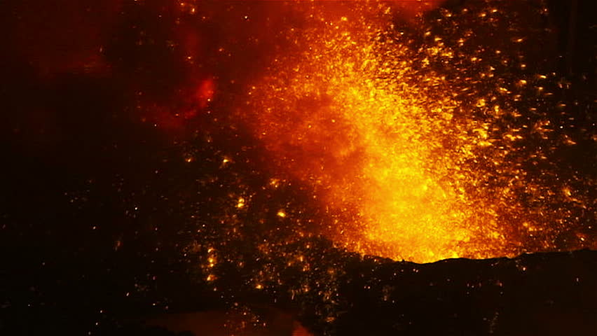 Molten metal melted in furnace at metallurgical plant | Shutterstock HD Video #11939006