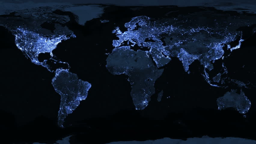 Map of the world illuminated map of the world illuminated illuminated world map animation animation is looped for continuous playback gumiabroncs Image collections