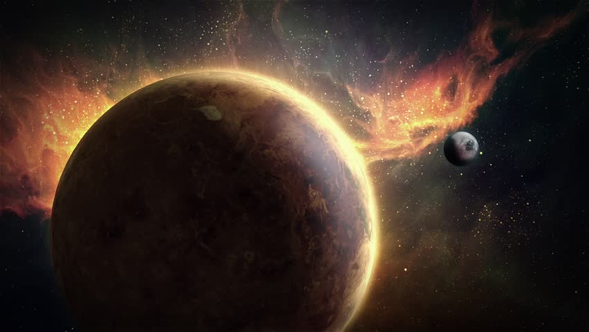 Animation of planet venus in outer space with beautiful nebulae animation of planet venus in outer space with beautiful nebulae background stock footage video 11953766 shutterstock voltagebd Choice Image