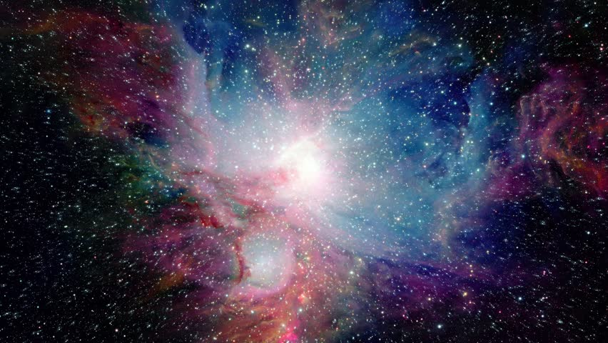 6 Awesome Cosmos Inspired Hd Wallpapers: Moving Through Space Towards Pretty Galaxy Stock Footage