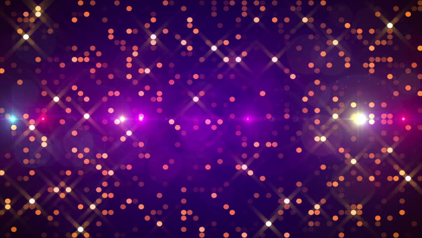 purple abstract background gold particles loop stock