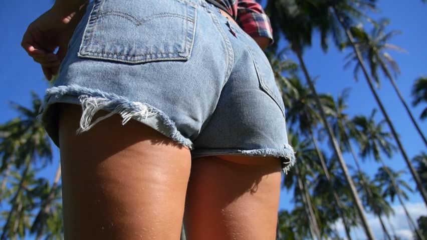 Ass butt closeup
