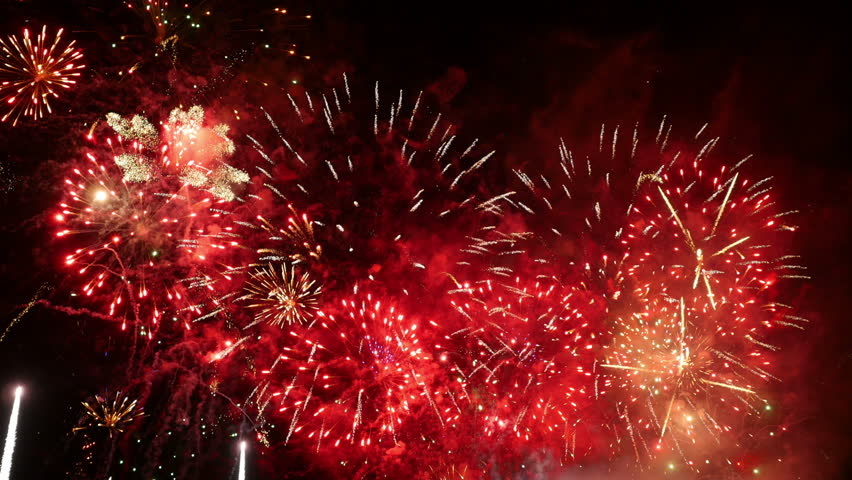 Fireworks Stock Footage Video | Shutterstock
