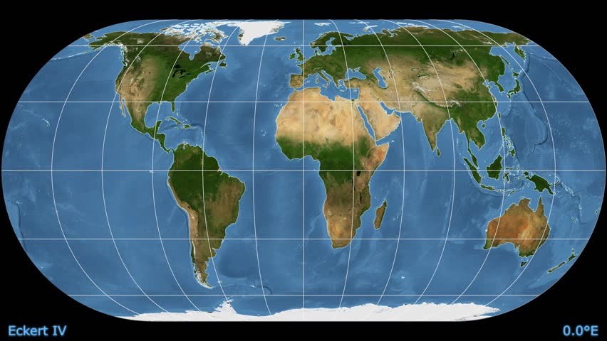 Distortion patterns animated world map in the robinson projection animated world map in the eckert iv projection blue marble raster used gumiabroncs Image collections