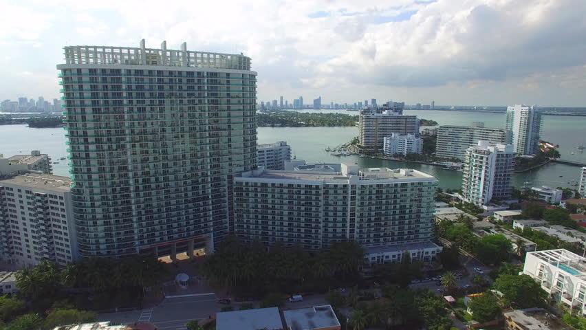 Miami real estate for sale aerial video | Shutterstock HD Video #12356756