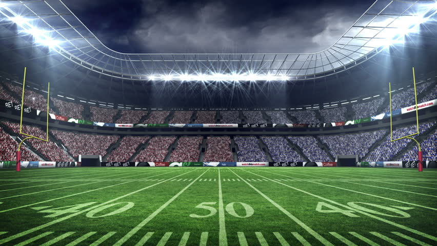 View of an american football stadium with fog stock footage video 12364934 shutterstock - Soccer stadium hd ...