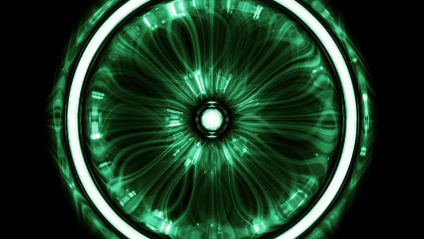 Fancy Club Light Effects In A Dark Background Stock: Green Fancy Background Stock Footage Video 11137106