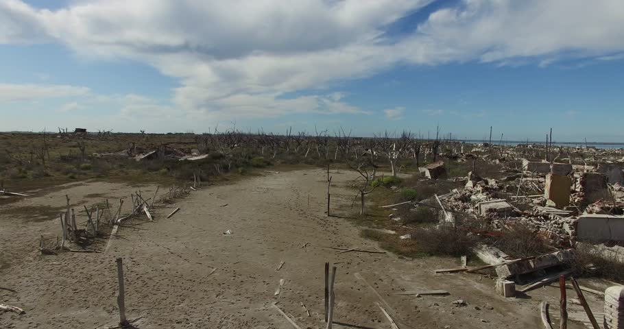 Destroyed City Stock Footage Video   Shutterstock
