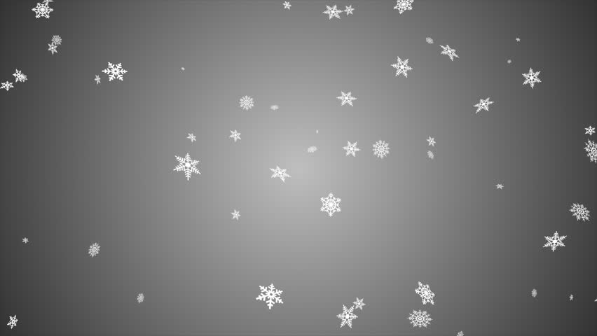 Snowfall background, seamless loop, black and white | Shutterstock HD Video #12486896