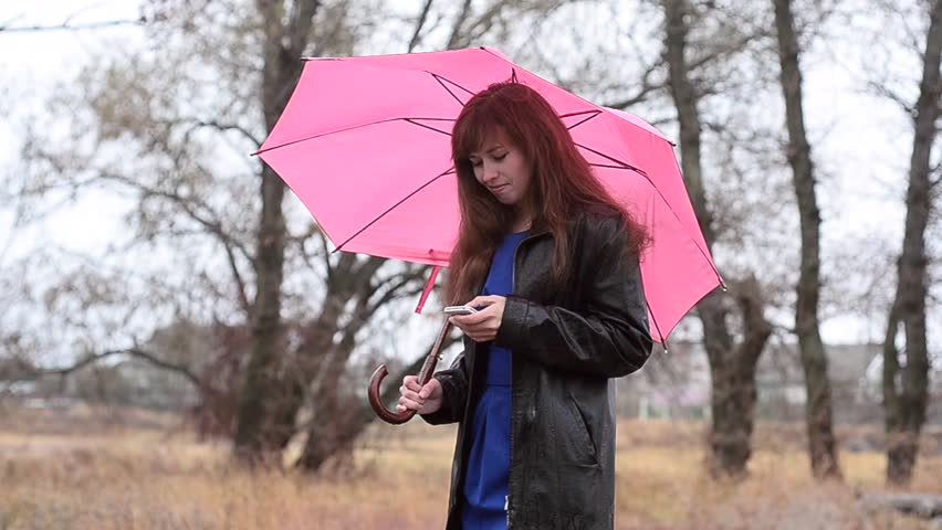 Image result for a girl with scarf and umbrella