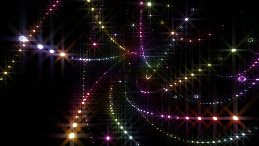 LED Light background.