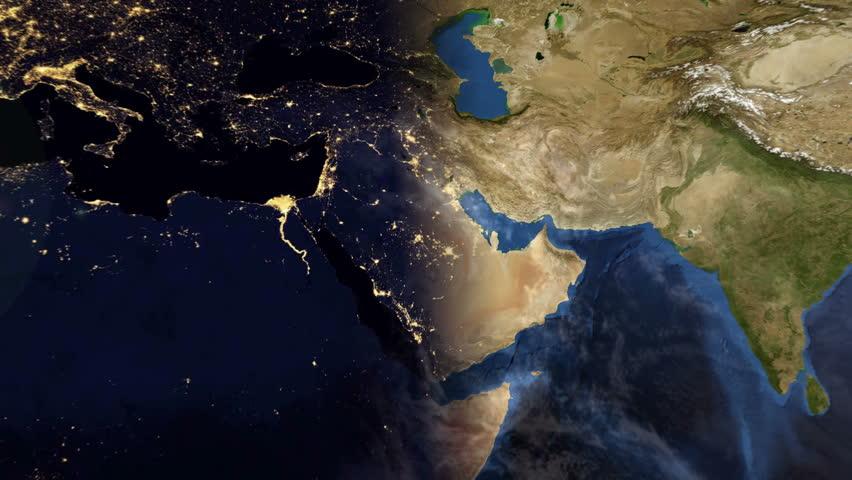 Africa Mediterranean Time Lapse 4k Hd Stock Footage Video