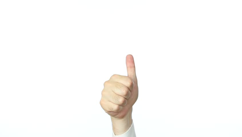 Thumbs up | Shutterstock HD Video #1261993