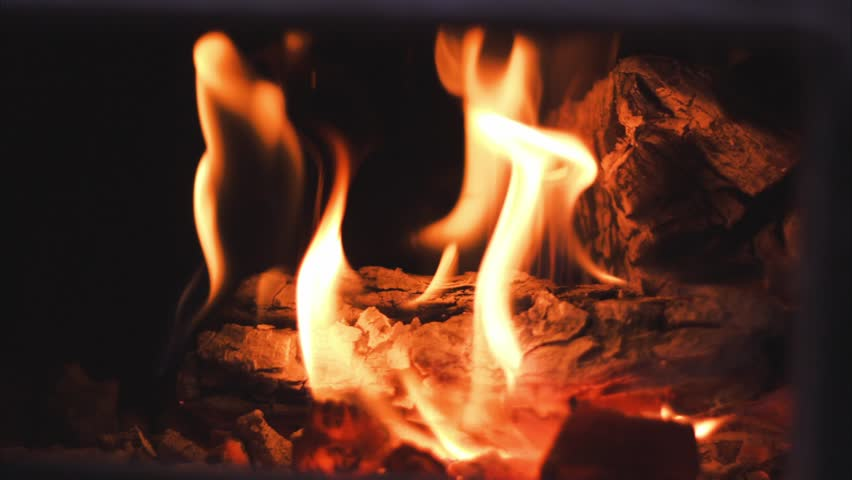 Put Out Fire In Fireplace clip of fire on camping trip and then dousing flames with water to