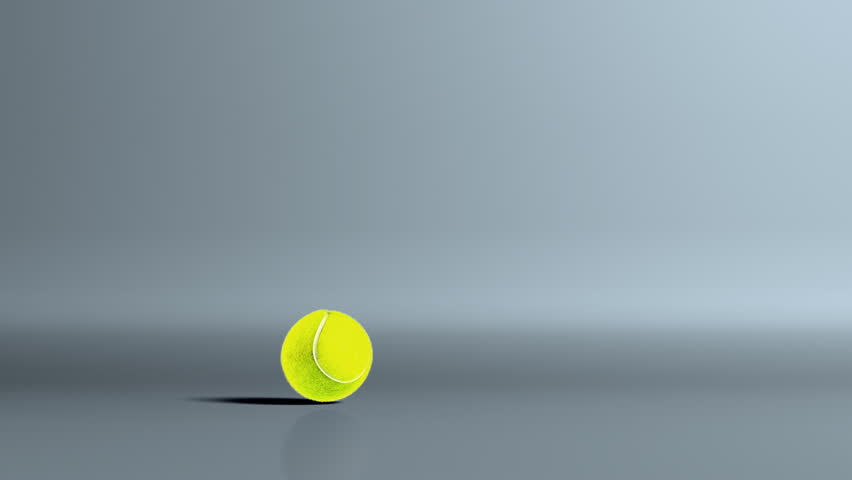 Tennis Ball Bouncing Stock Footage Video 100 Royalty Free 1263466