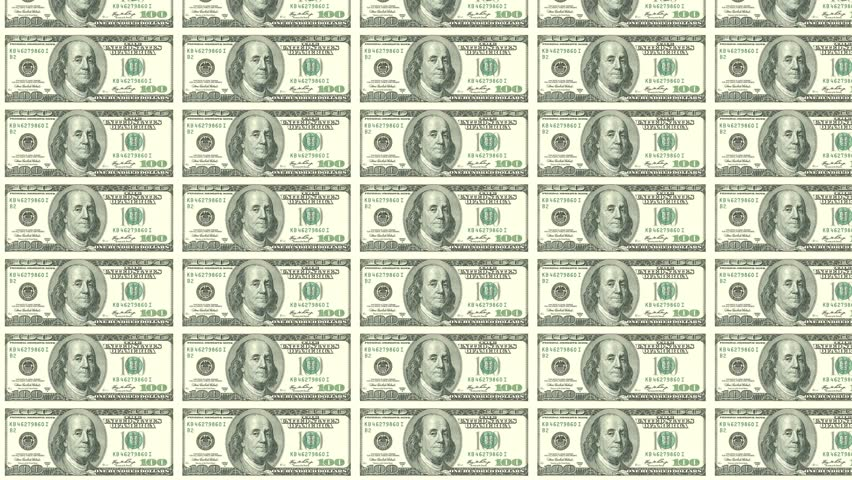 Usd 100 Dollar Notes Looping Stock Footage Video (100% Royalty-free)  12667976 | Shutterstock