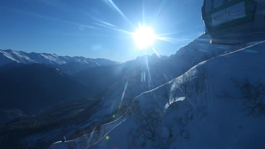 Inside Ski lifts Sunrise #1267273