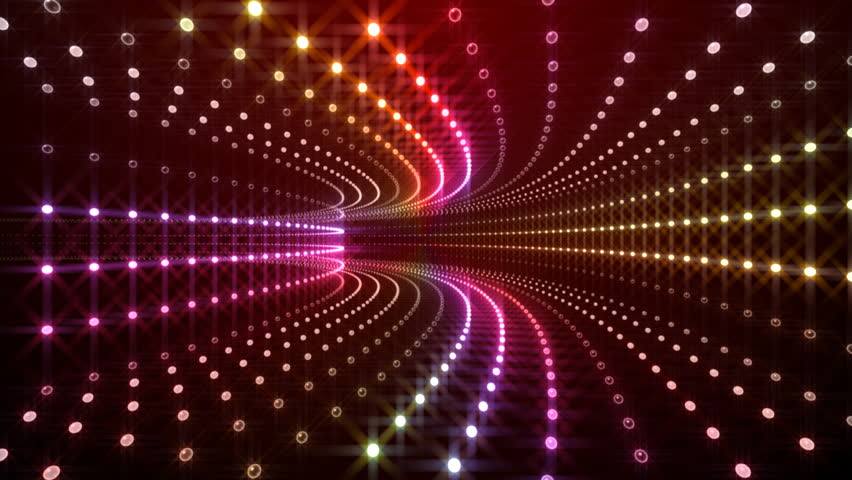 LED Light Tunnel. - HD stock video clip & LED Light Background. Stock Footage Video 1255030   Shutterstock azcodes.com