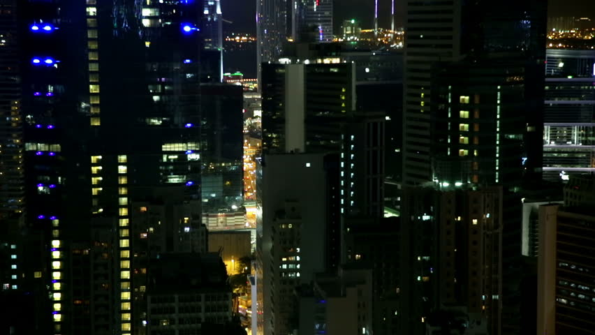 Ascending Night View To The Stock Footage Video 100 Royalty Free 12752126