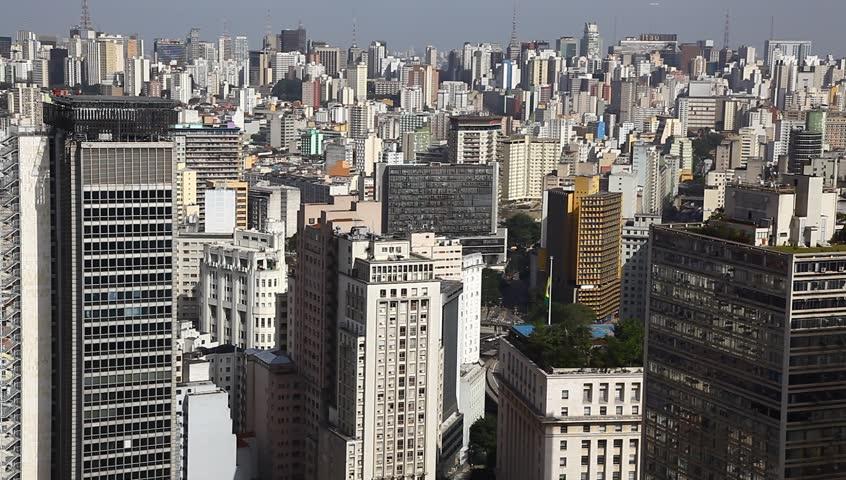 Sao Paulo Brazil skyline  | Shutterstock HD Video #1278076