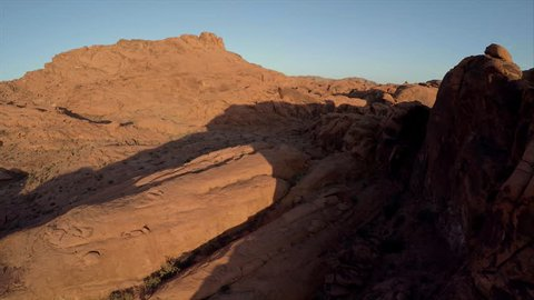Sunrise in Valley of Fire State Park near Las Vegas, Nevada