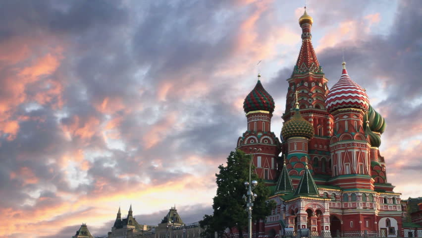 St Basil's Cathedral in Moscow.