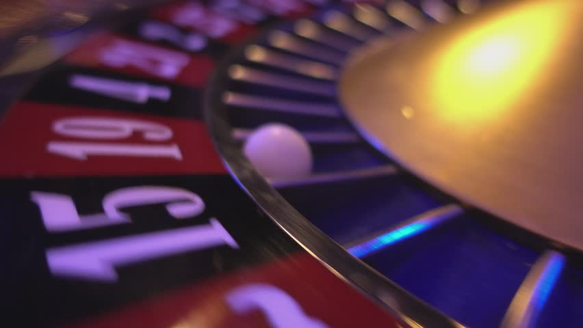 Perspective close up view on Roulette Wheel in a casino | Shutterstock HD Video #12838256