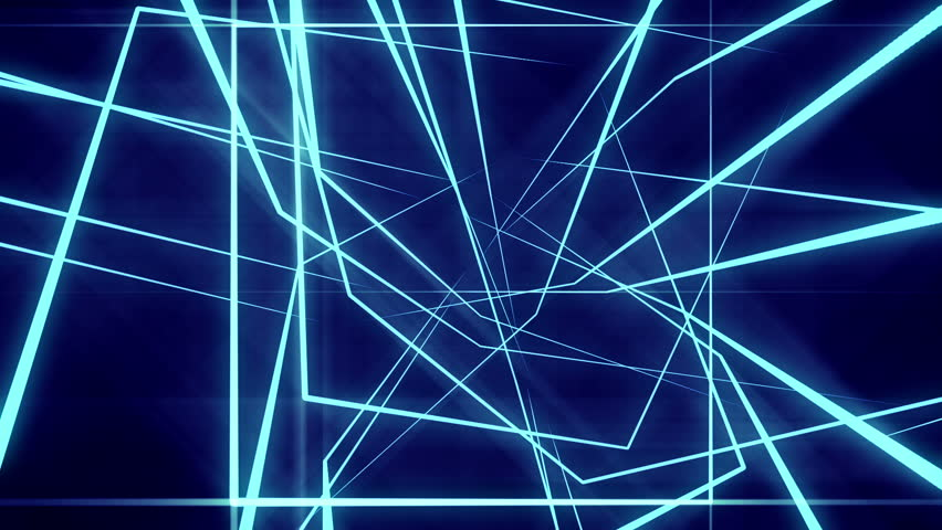 Blue Neon Laser Lights Animated Stock Footage Video (100% Royalty-free)  12894536 | Shutterstock