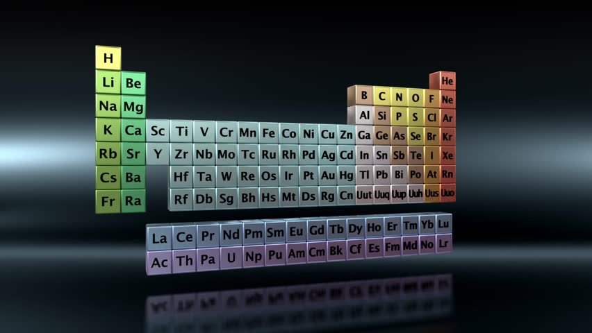 Periodic table of the elements stock footage video 1295290 conceptual animation showing the basic properties of the chemical element carbon hd stock video clip urtaz Images