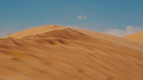 Sahara Landscape, Dunes and Wind