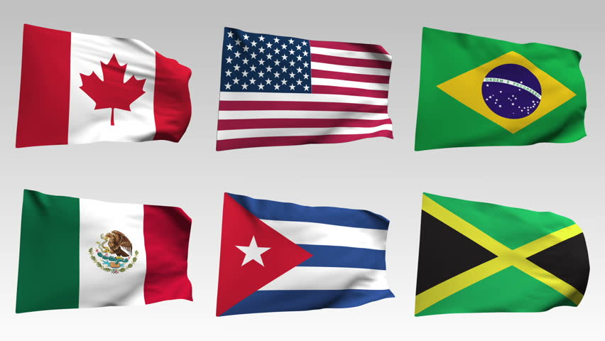 Stock video of animated flags from america collection 13148246 stock video of animated flags from america collection 13148246 shutterstock publicscrutiny Gallery