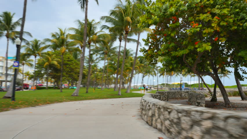 Haulover miami beach walk stock footage video 13057385 for Warmest florida beaches in december