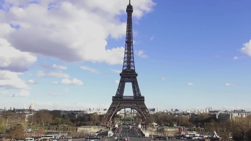 Eiffel Tower view from Trocadero | Shutterstock HD Video #13293176
