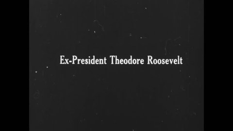 CIRCA 1930s - Ex President of the United States Theodore Roosevelt.