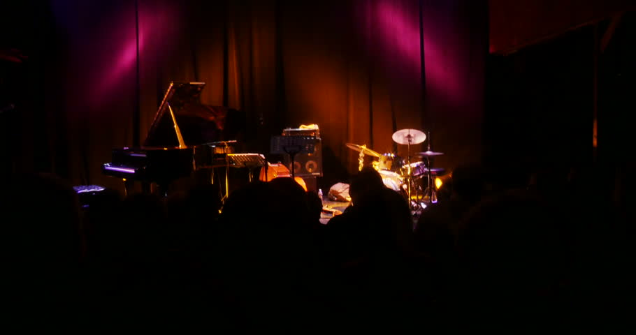 People clapping hands after jazz performance   Shutterstock HD Video #13330046