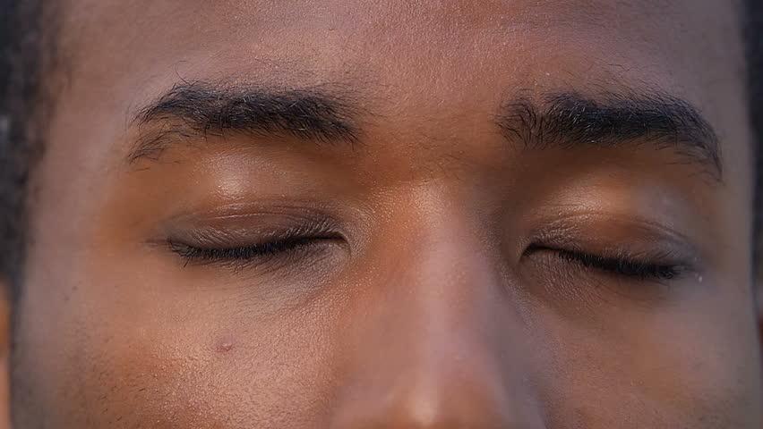 closeup of tear in - photo #27