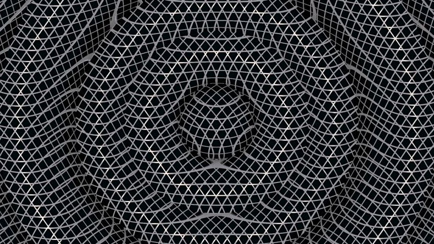 Black Chain Link Fence Background