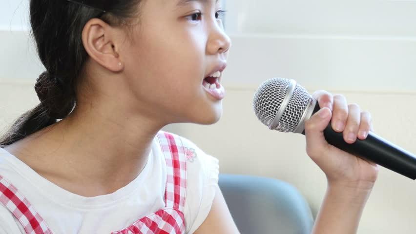Asian girl singer
