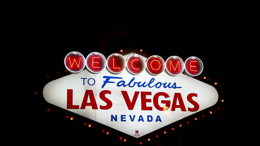 Welcome to Fabulous Las Vegas Sign Zoom Out | Shutterstock HD Video #13476716