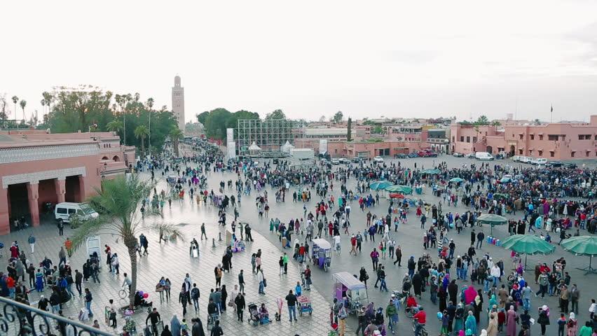 Djemaa el-Fnaa square, Marrakesh, Morocco