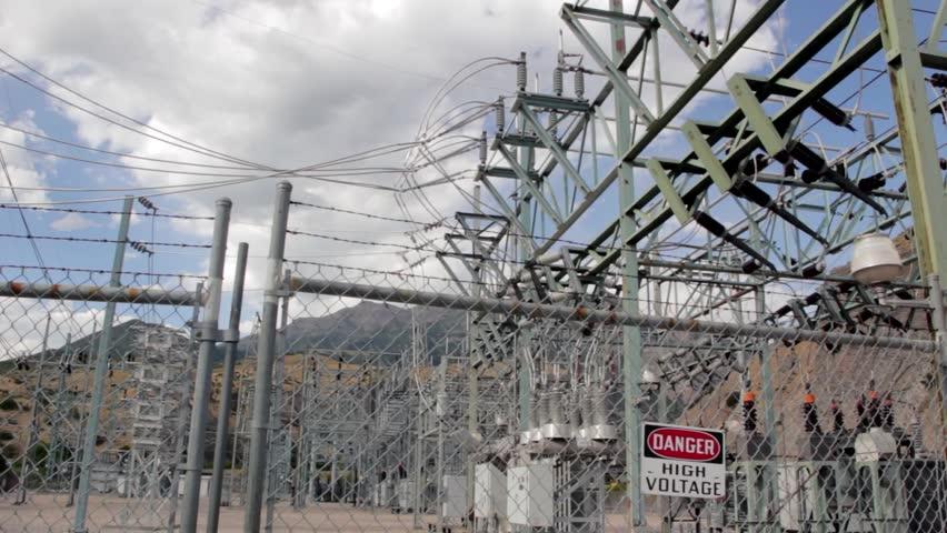 High Voltage Power Station