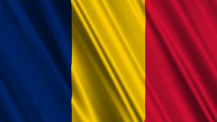 Chad Flag Loop Stock Footage Video Shutterstock - Chad flag