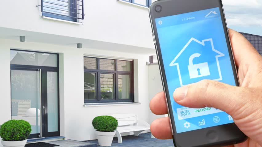 Smart House Phone smart home - smart house, smart home automation, device with app