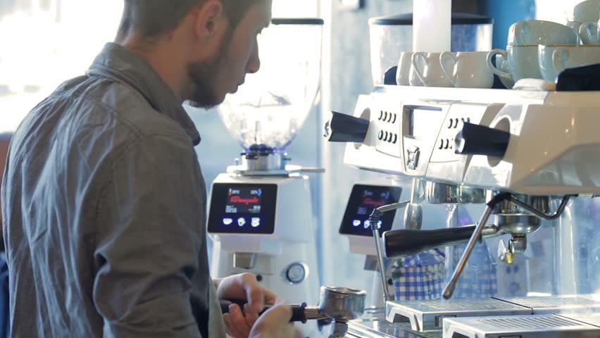 Barista preparing espresso | Shutterstock HD Video #13792577