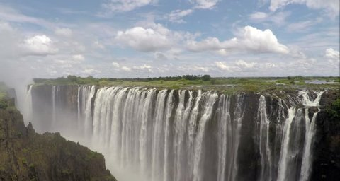Slow lift on Victoria Falls