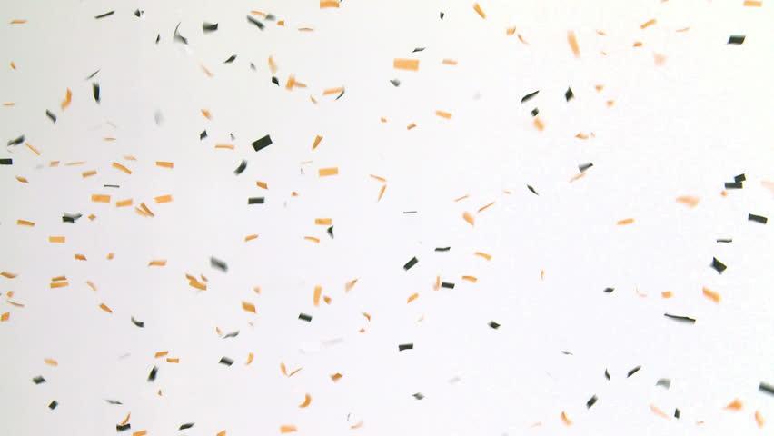 Golden Confetti Stock Footage Video 5136089 Shutterstock