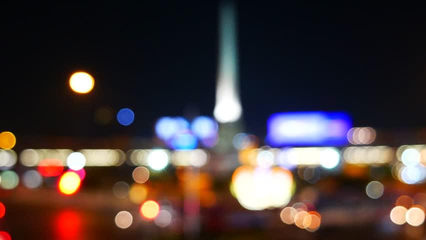 Urban scene of traffic in Bangkok – Victory Monument | Shutterstock HD Video #13968026
