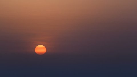 Sunrise in Ajman from rooftop timelapse. Ajman is the capital of the emirate of Ajman in the United Arab Emirates.