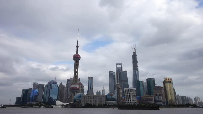 Shanghai China Pudong Lujiazui Financial District Lujiazui ...