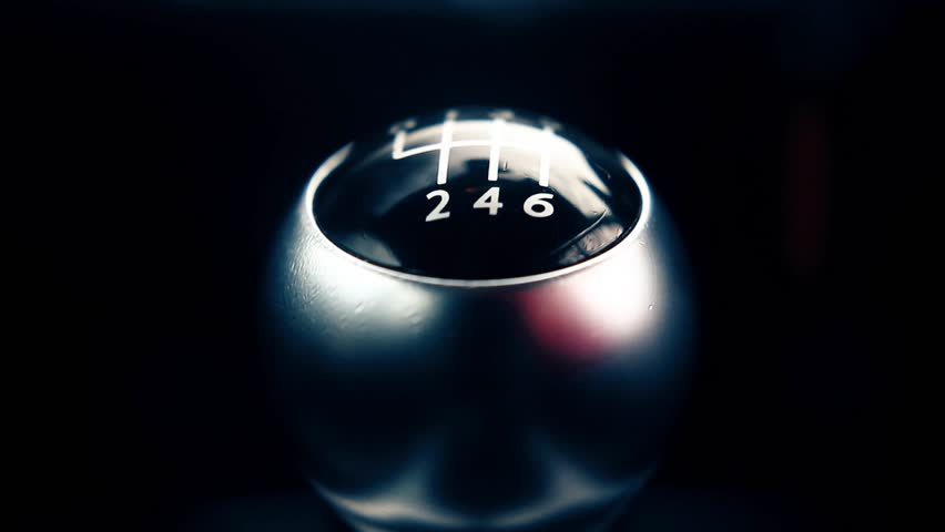 Shifting Gear Stick in Manual Car, Close Up | Shutterstock HD Video #14115686